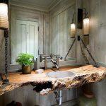 masif ahşap banyo tezgahları