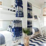 mavi desenler ile rahat bir uyku alanı