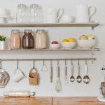 mutfak duvar rafı örneği