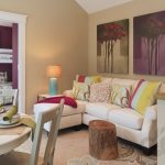 sal ve battaniyeler ile salon dekorasyonu (1)