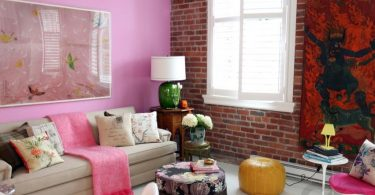 sal ve battaniyeler ile salon dekorasyonu (4)