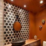turuncu banyo dekorasyonu (1)