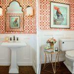 turuncu banyo dekorasyonu (4)