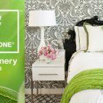 2017 pantone rengi Greenery yatak odası