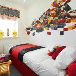 eğlenceli lego dekorlu çocuk odası dekorasyonları