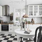 etkileyici beyaz mutfak dekorasyonu 2017