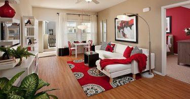 kırmızı ev dekorasyon fikirleri 2017