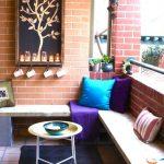küçük balkonlar için dekorasyon örnekleri