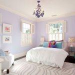 lavanta rengi yatak odası dekorasyonu