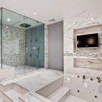 lüx mermer banyo dekorasyonu