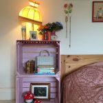 meyve kasaları ile renkli dekorasyon fikirleri