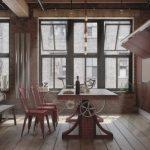 modern eklektik yemek odası dekorasyonu