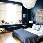 yatak odası makrome duvar dekoru