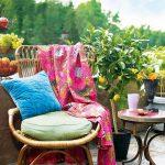 yazlık balkon dekorasyon fikirleri 2017
