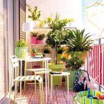 yazlık balkon dekorasyonu