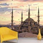 istanbul manzaralı dekoratif poster 2017
