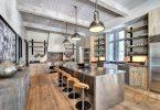 rustik mutfak dekorasyonu