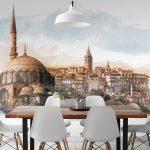 sultan ahmet dekoratif duvar posteri 2017