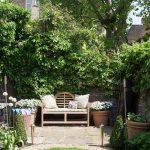 yaz bahçe dekoru