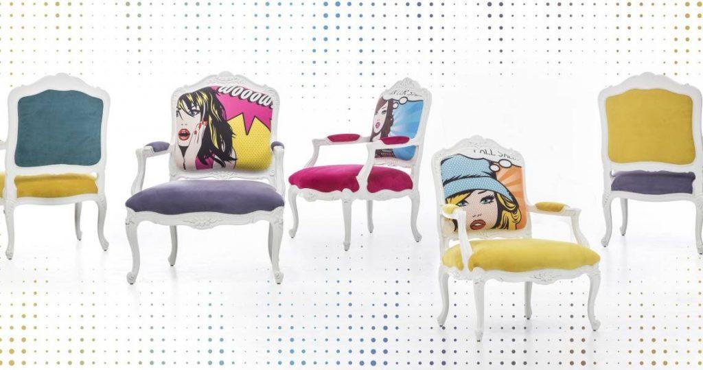 Saloni Mobilya renkli sandalyeler modelleri