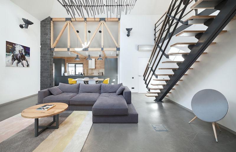 Terkedilmi evden modern ev dekorasyonu dekorblog for Ev dekorlari