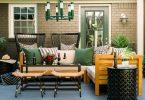 Renkli Bahçe Mobilyası