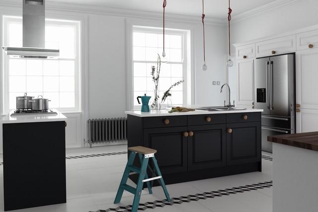 Siyah mutfak dekarosyonu