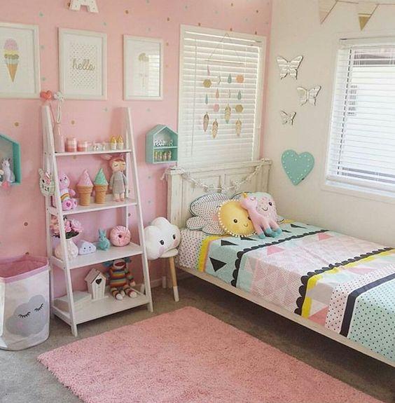 Ocuk odas dekorasyonu p f noktalar dekorblog for Home interior picture little girl