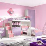 kız çocuklarını mutlu edecek renkli odalar