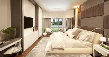 rahat yatak odası dekorasyonu