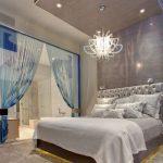 yatak odası perde modelleri modern
