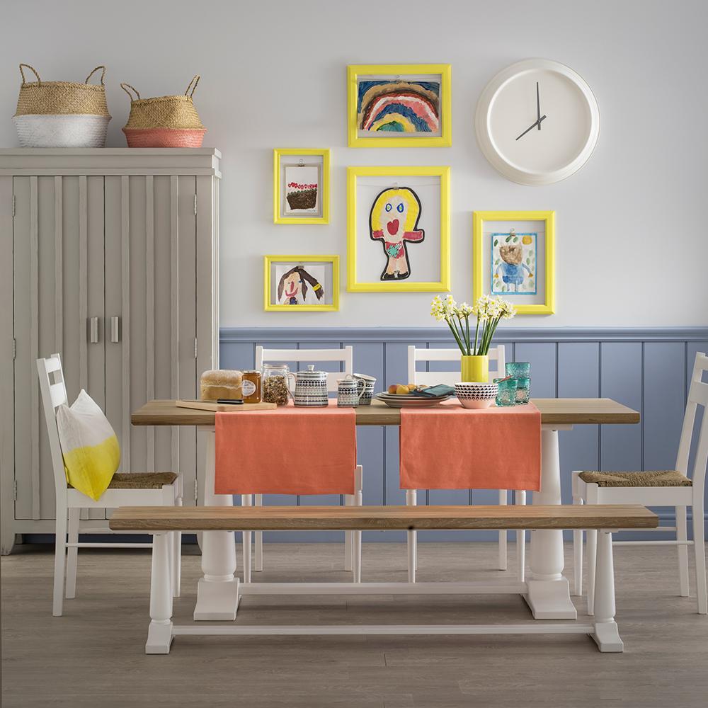 Bank Şeklinde Mutfak Masası