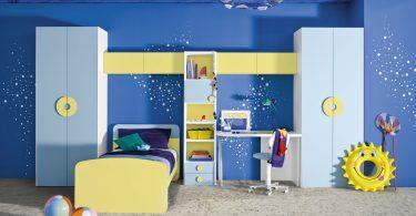 erkeek çocuk odası dekorasyonı