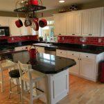 kırmızı mutfak dekorasyon örnekleriı