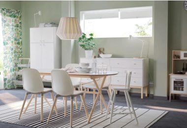 Oval mutfak masası