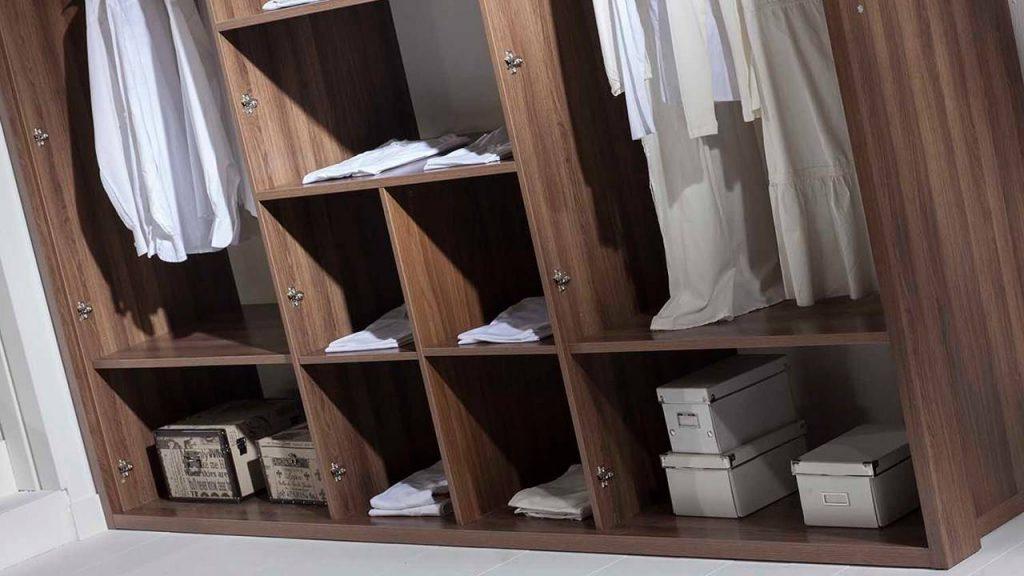 Zenit Yatak Odası Gardrop İçi