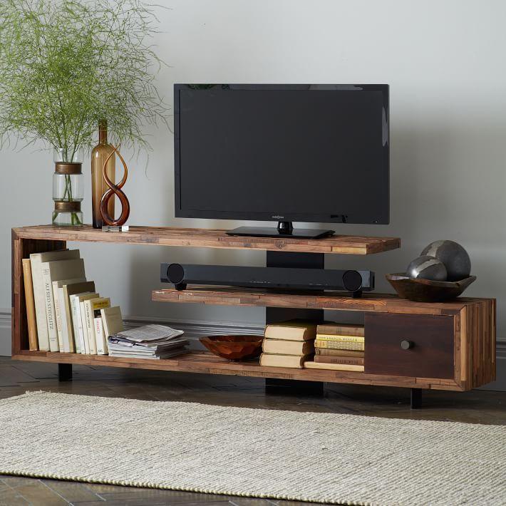 Küçük Odalar için TV sehpaları da tercih edilebilir