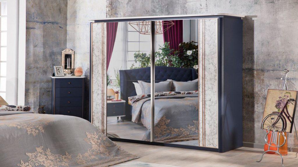 İstikbal Sürgülü Dolap Modelleri - Lucas Yatak Odası 2018