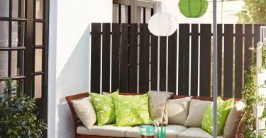 İkea Balkon Dekorasyon Ürünleri