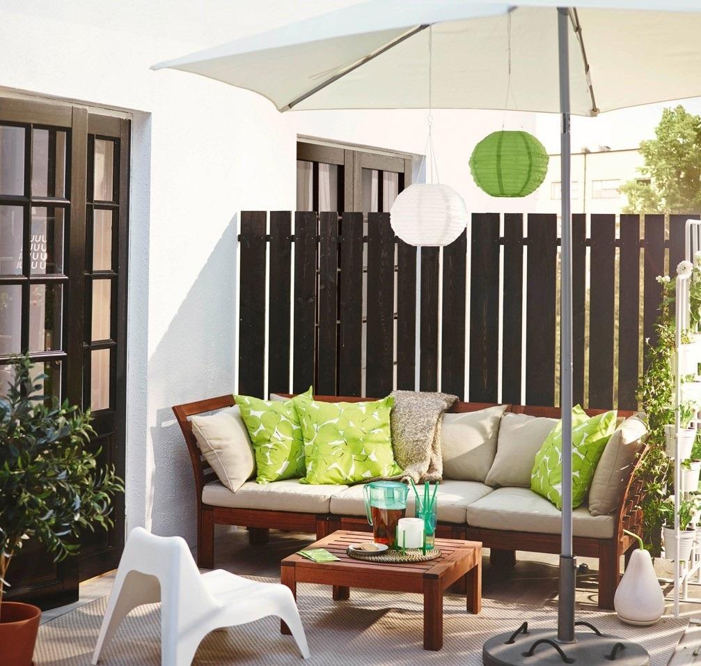 Kea balkon dekorasyon r nleri le konforu ya ay n dekorblog - Panchine da giardino ikea ...