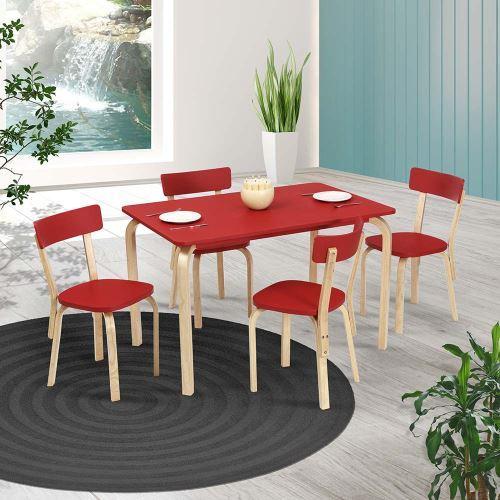 tekzen modern yemek masa takımları