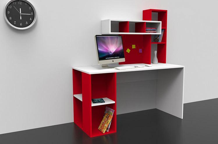 basit ve modern bir çalışma masası , ev için oldukça ideal