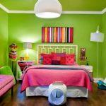 dekorasyonda neon renklerin etkisi