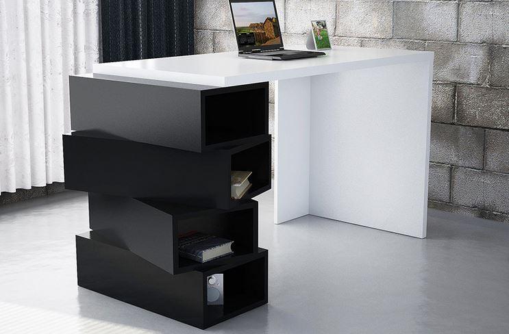farklılıktan hoşlananlar için modern bir çalışma masası