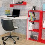 modern ve estetik bir görünüm , ev için ideal çalışma masası
