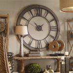 Vintage duvar saati dekorasyon uygulaması