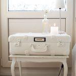bavuldan yapılma dekoratif komodin tasarımı