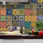 çini desenli mutfak fayansları 2016