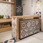 çini desenli mutfak tezgahı
