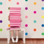 çocuk odaları için renkli duvar stciker modelleri 2016